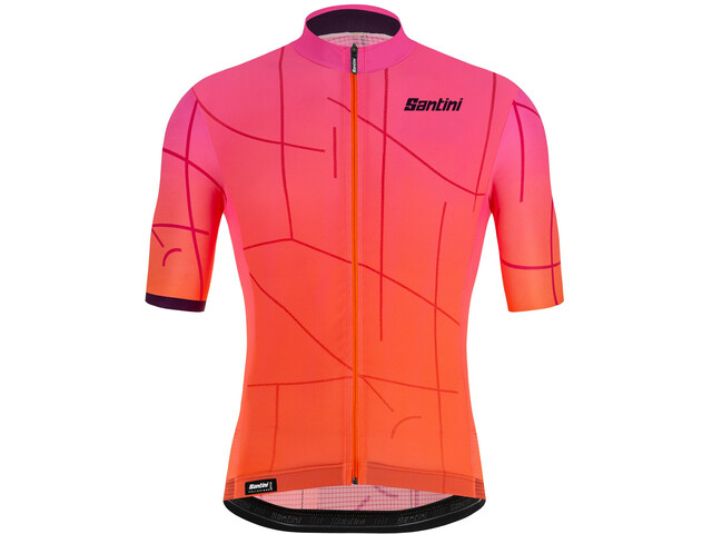 Santini Tono Puro Jersey Men atomic orange